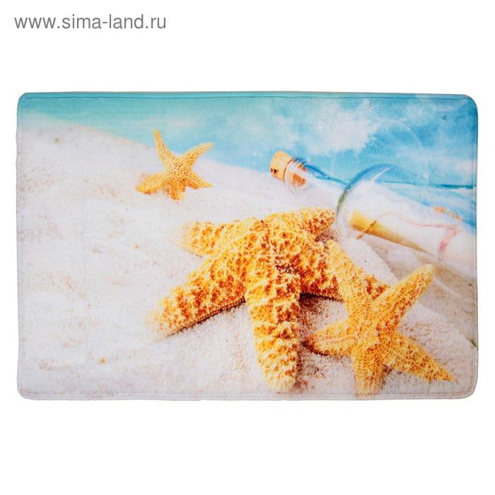 66981bf0ba10b ПАЛИТРА Владивосток: Коврик для ванной комнаты флис 40х60см Звезды ...